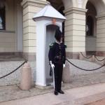 Wache am Königlichen Schloss